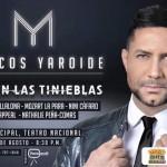 Cantante cristiano Marcos Yaroide ofrecerá concierto con artistas seculares