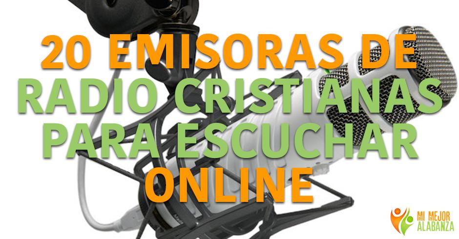 20 emisoras cristianas para escuchar online