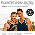 Respuesta del Pastor Principal de la Iglesia de Hillsong Brian Houston sobre publicaciones de que pareja Gay dirige el coro de la Iglesia de NY