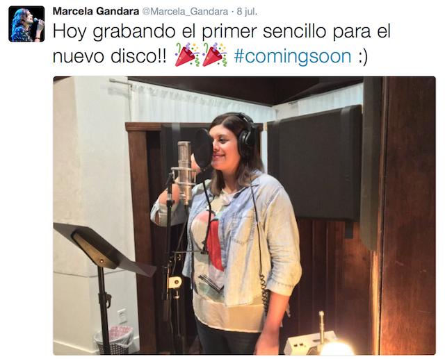 Marcela Gandara Nuevo Disco
