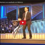 Danilo Montero es asaltado en México