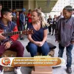 Hermanos que cantan en las calles dan lección de vida: No tenemos que cobrarle a Dios