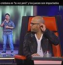 """Joven canta cancion cristiana en """"la voz perú"""" y los jueces son impactados"""