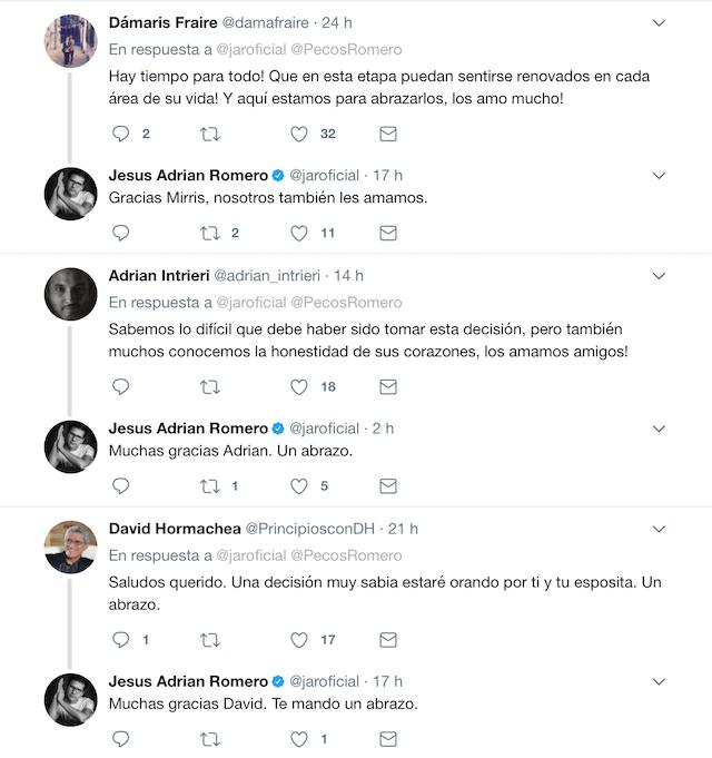 jesus adrian romero twitter