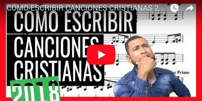 Cómo escribir canciones cristianas video