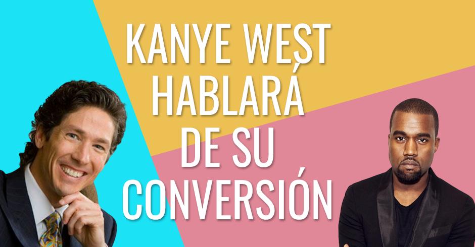 Kanye West hablará de su conversión en Lakewood Church