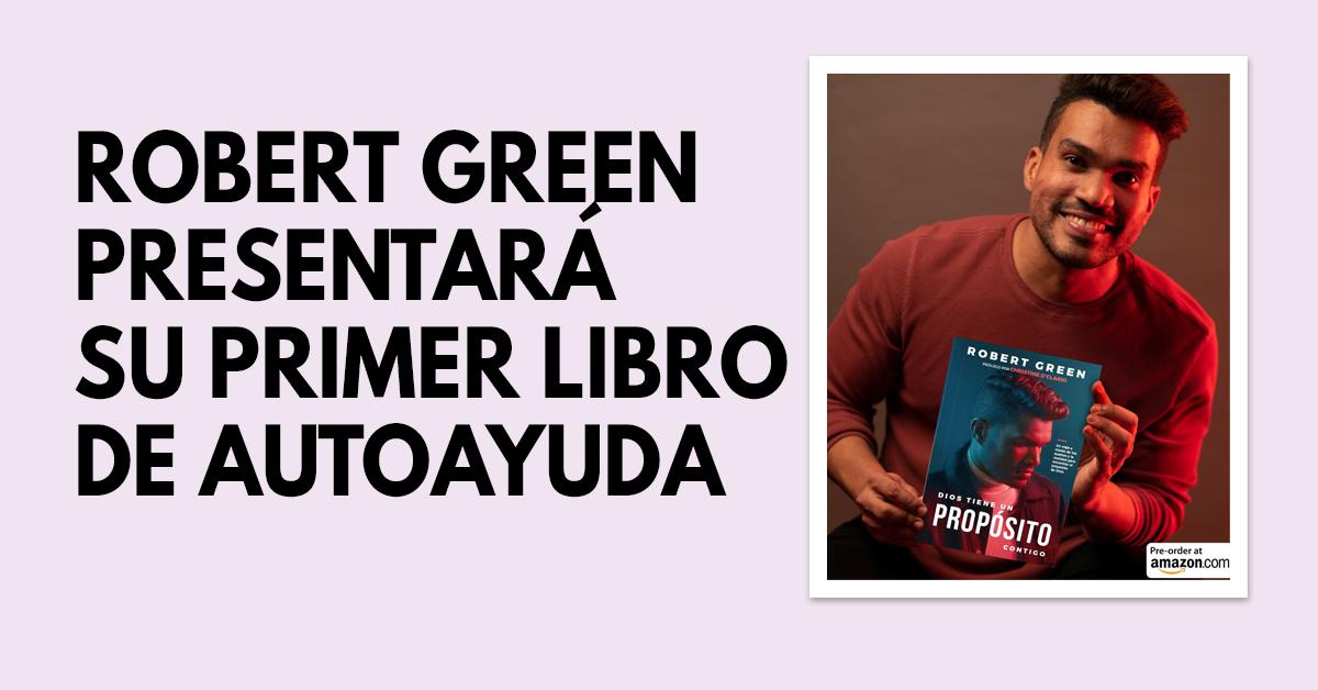 Robert Green presentará su primer libro de autoayuda