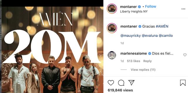 Ricardo Montaner lanza canción cristiana Amén