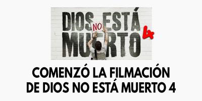 Comenzó la filmación de Dios no está muerto 4