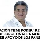 «La oración tiene poder» responde hija de Jorge Oñate a los mensajes de apoyo de los fans