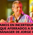 """""""Estamos en incertidumbre aunque aferrados a Dios"""" dice mánager de Jorge Oñate"""