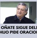 Jorge Oñate sigue delicado, su hijo pide oraciones