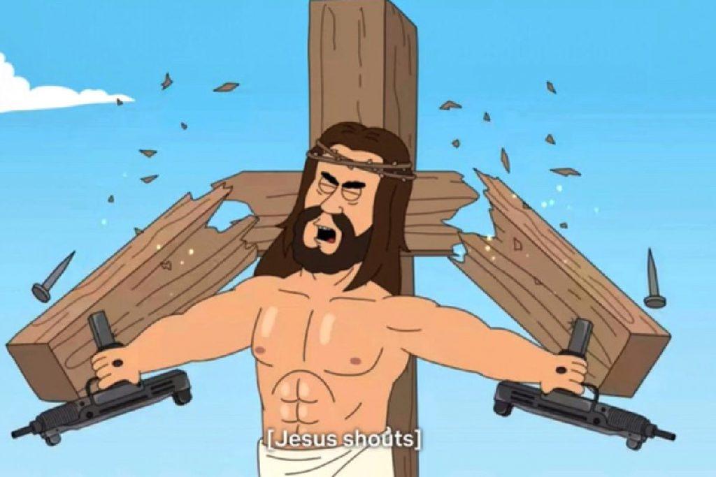 jesus con rifles paradise pd