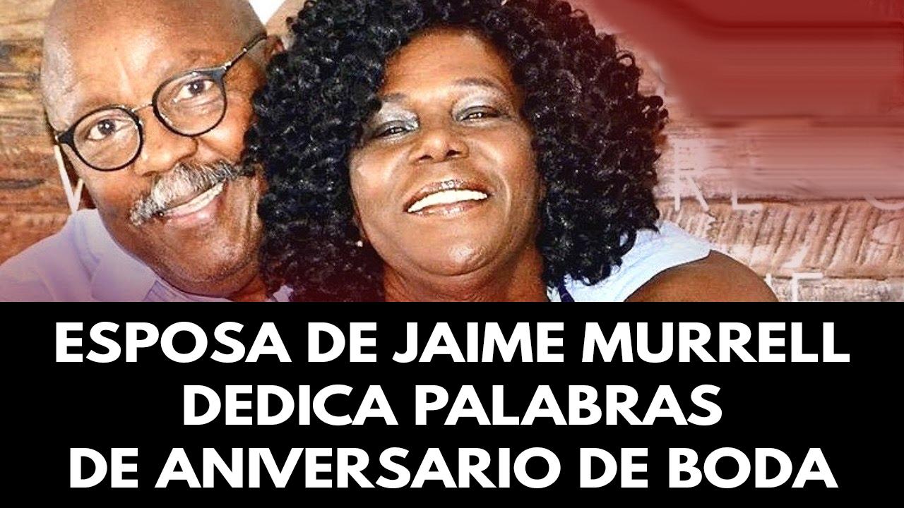 Esposa de Jaime Murrell dedica palabras de aniversario de boda