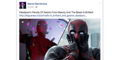 marco barrientos y christine d'clario pagina facebook hackeada