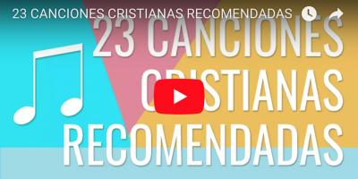 canciones cristianas recomendadas FB