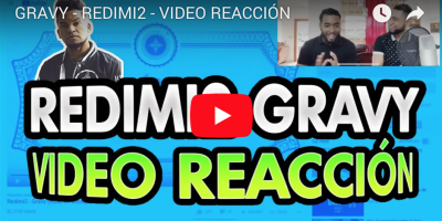 REDIMI2 GRAVY VIDEO REACCION FB