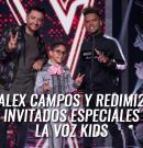 Alex Campos y Redimi2 invitados especiales de La Voz Kids Colombia