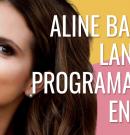 Aline Barros lanzará programa web en vivo