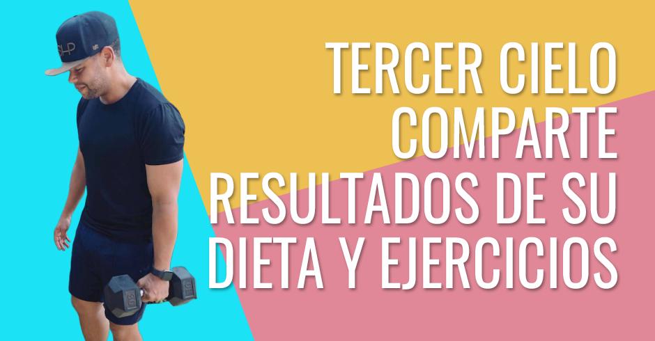 Juan Caros de Tercer cielo comparte resultados de su dieta y ejercicios