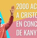 Más de 2,000 personas aceptan a Cristo tras concierto de Kanye West