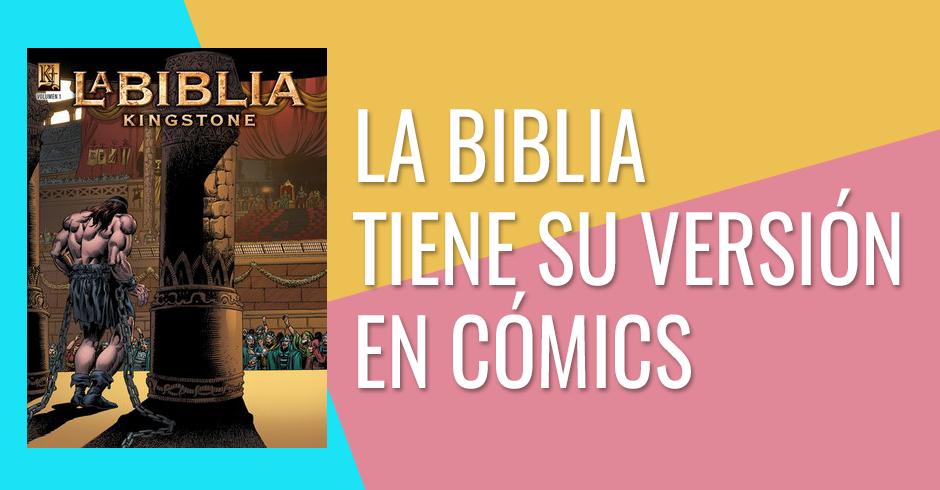 La Biblia tiene su versión en cómics