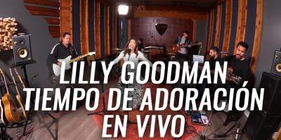 Lilly Goodman ofrece momento de alabanza en vivo 2