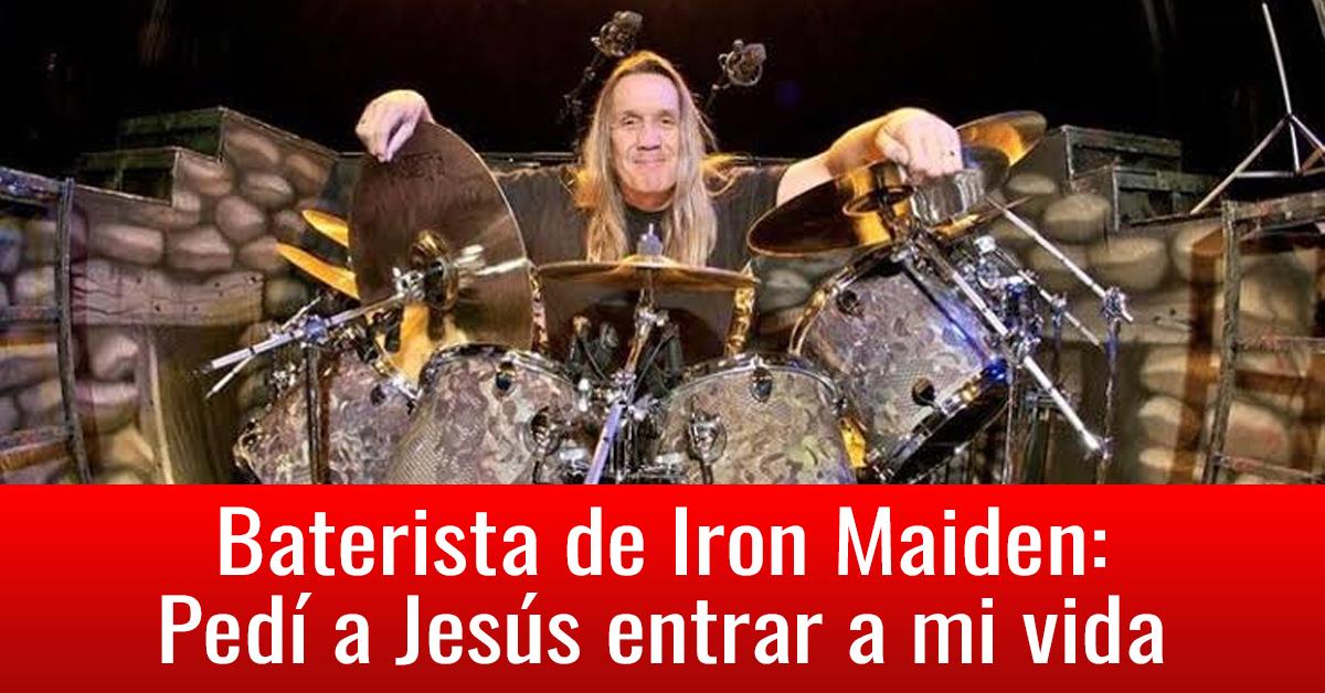 Baterista de Iron Maiden