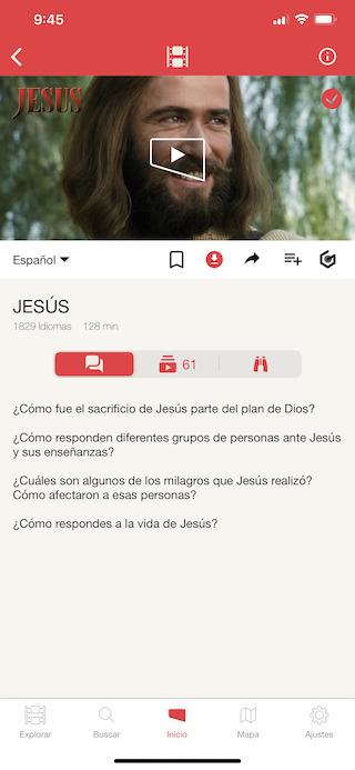 3 - Ver películas y series cristianas con Jesus Film Project