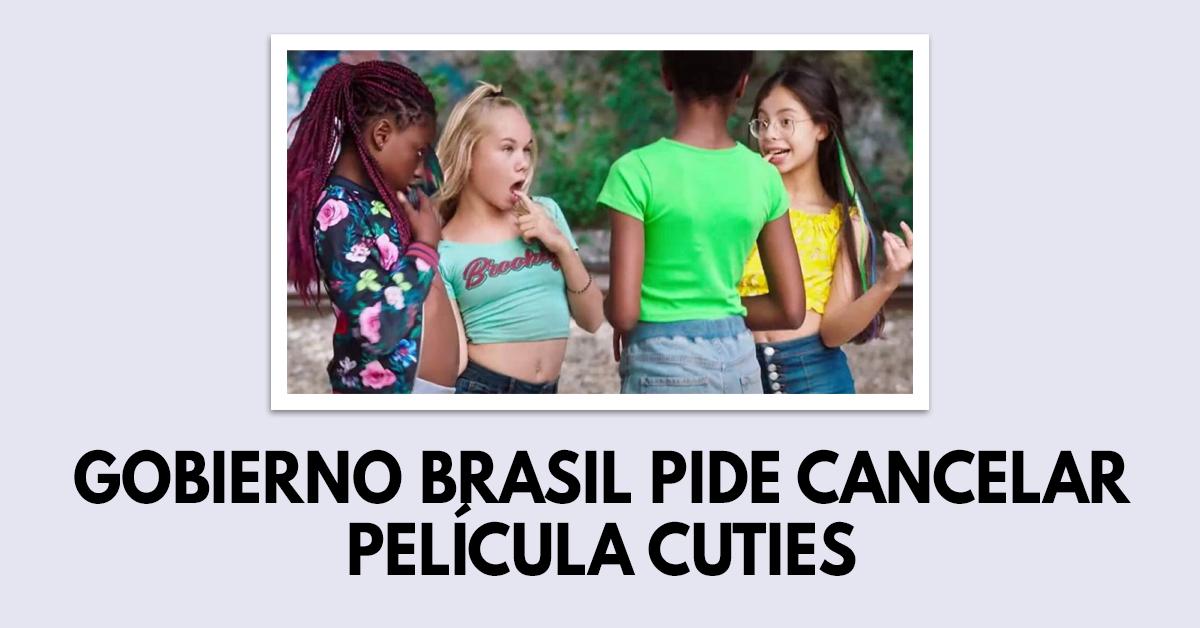 Gobierno de Brasil pide suspender película Cuties