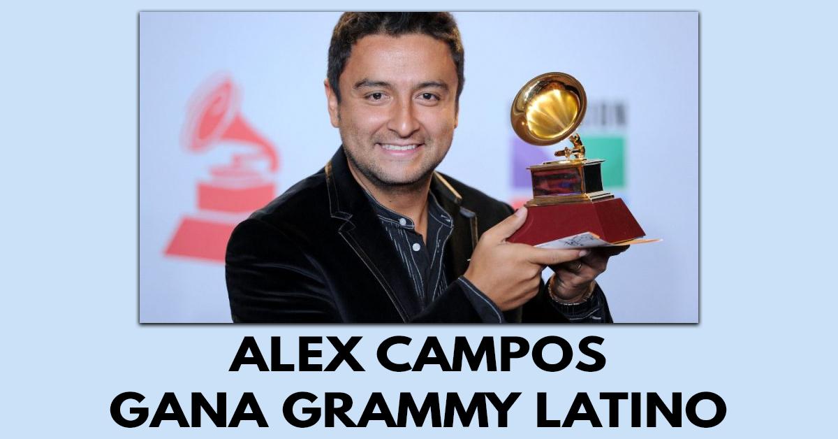 Alex Campos gana un Grammy Latino