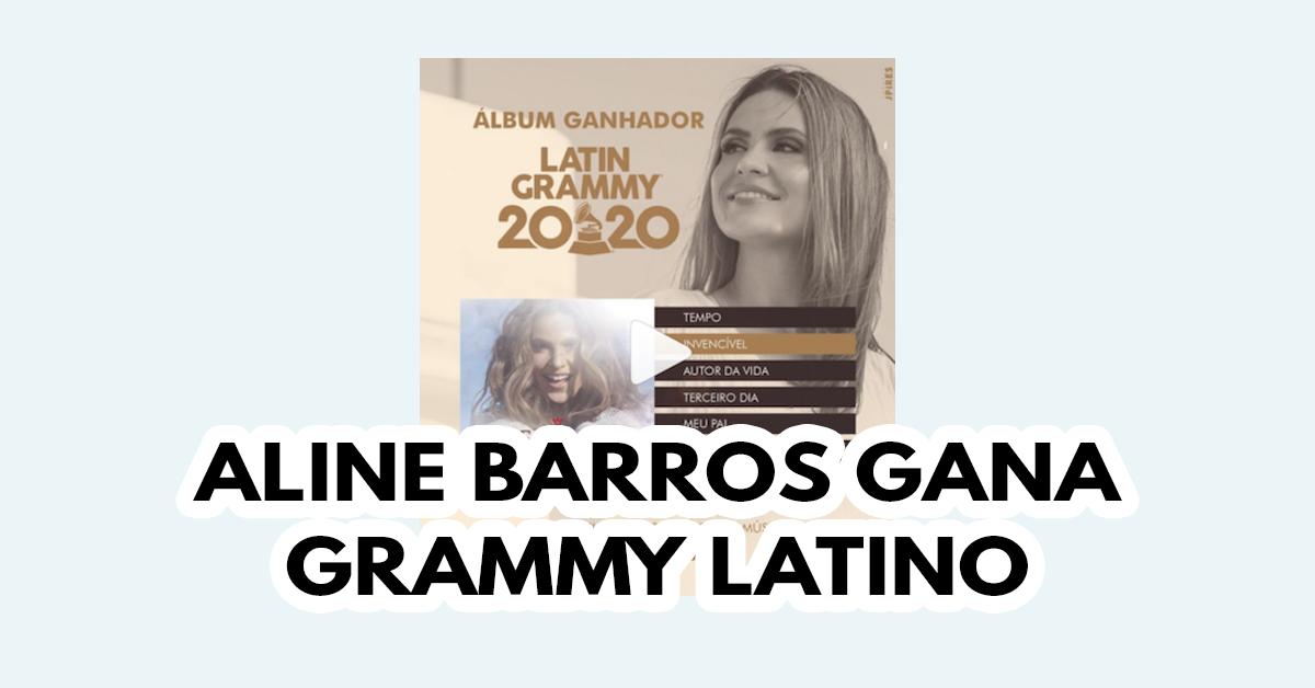 Aline Barros gana Grammy Latino