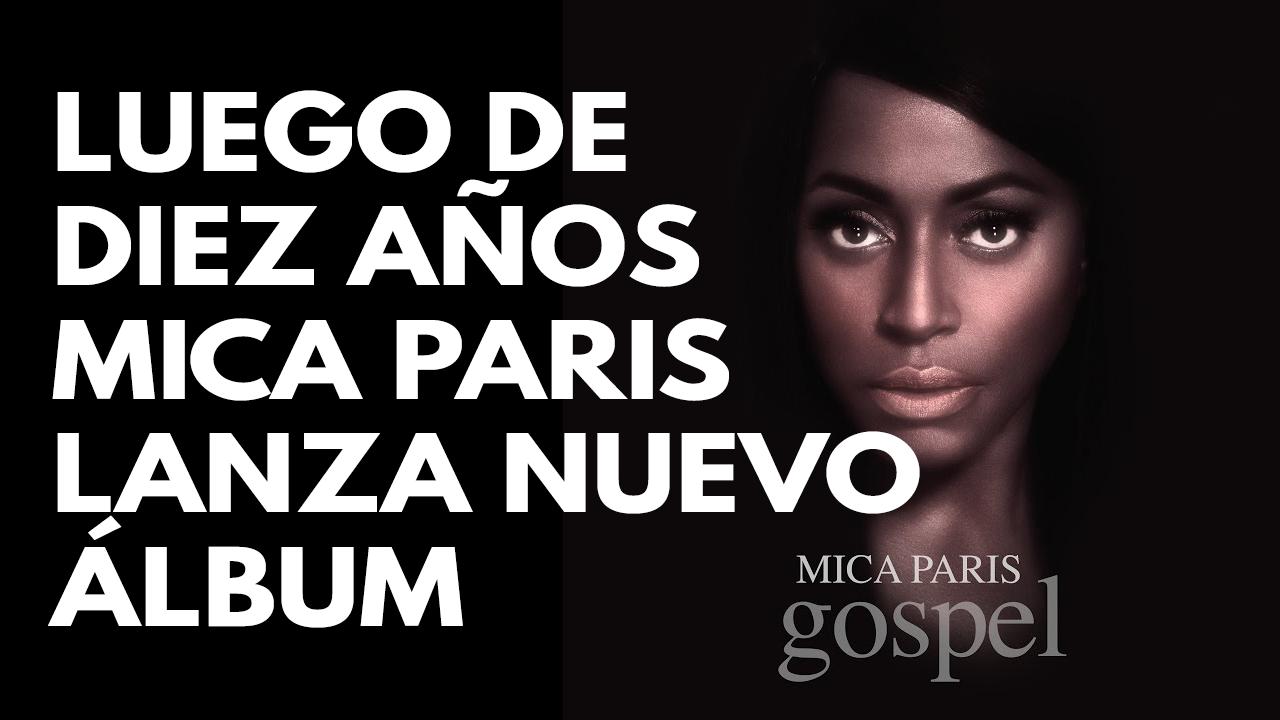 Luego de diez años Mica Paris lanza nuevo álbum