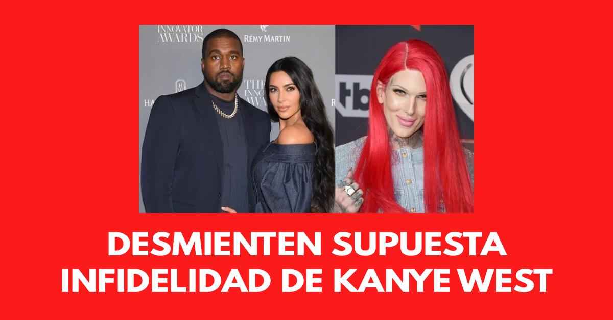 Desmienten supuesta infidelidad de Kanye West