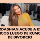 Kim Kardashian en estudios bíblicos tras rumores de divorcio