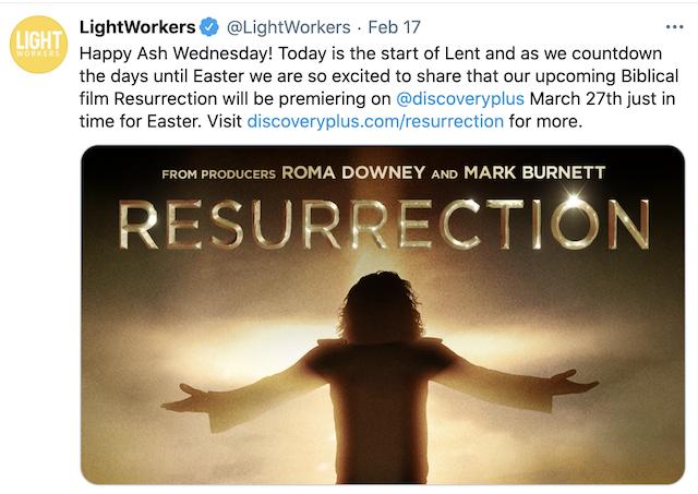Estrenarán nueva película sobre la resurrección de Jesús en Discovery+