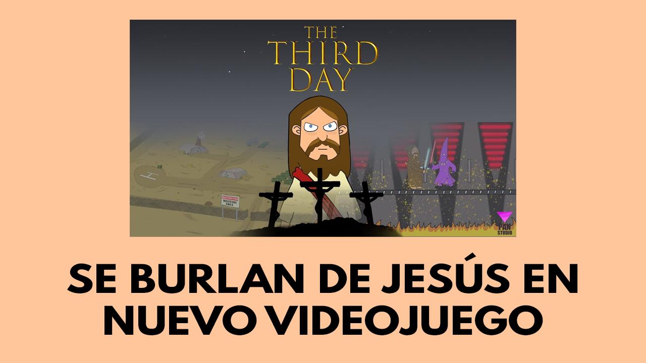 Se burlan de Jesús en nuevo videojuego