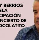 Danny Berrios cancela participación en concierto promovido por fan del dictador Daniel Ortega