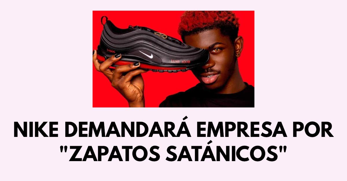Nike demandará empresa por Zapatos satánicos