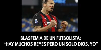 """Blasfemia de un futbolista- """"Hay muchos reyes pero un solo Dios, yo"""""""